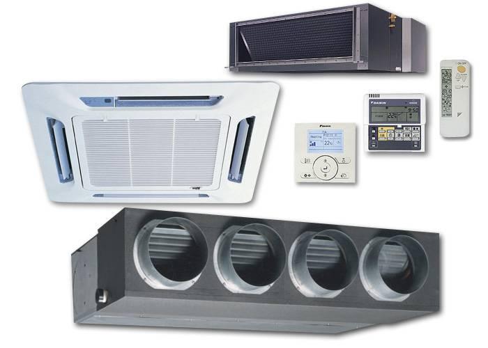 Совмещение системы вентиляции и кондиционирования