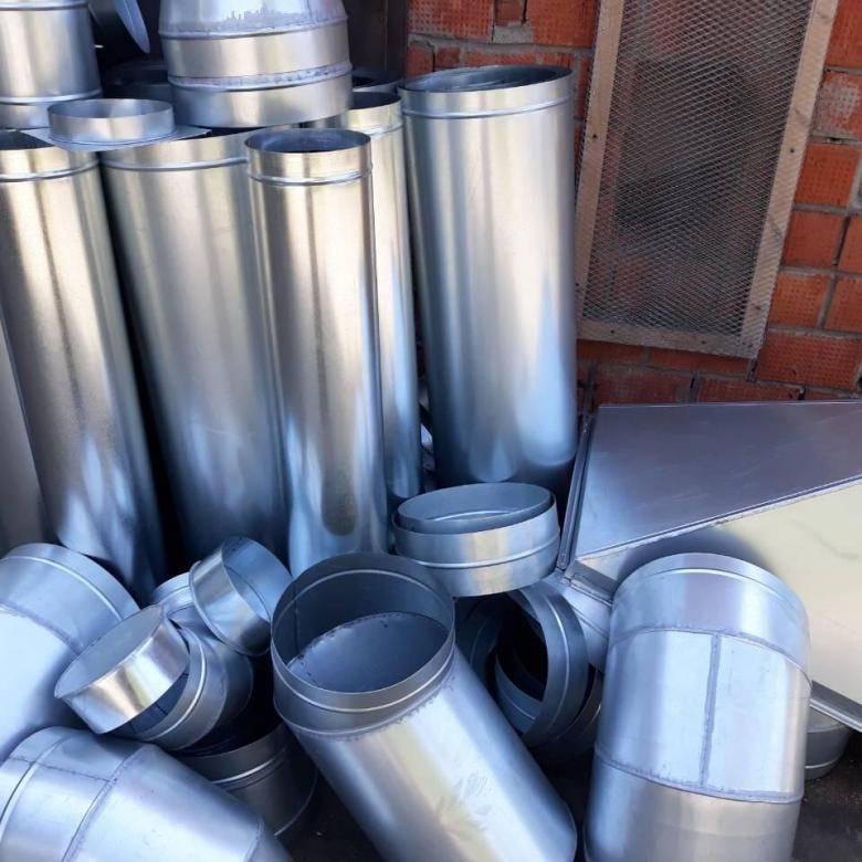 Производство навивных воздуховодов из оцинкованной стали