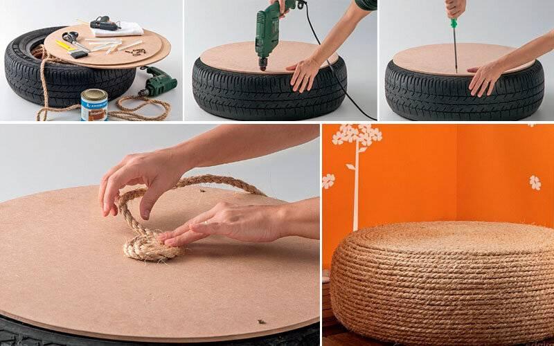 Пуфик мешок своими руками: как правильно сделать и в чём особенности его конструкции