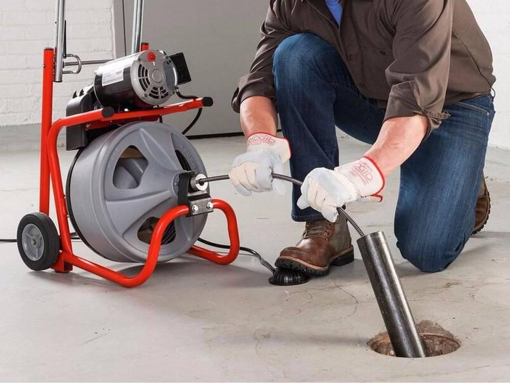Механическая прочистка канализации: чистка труб, очистка стоков