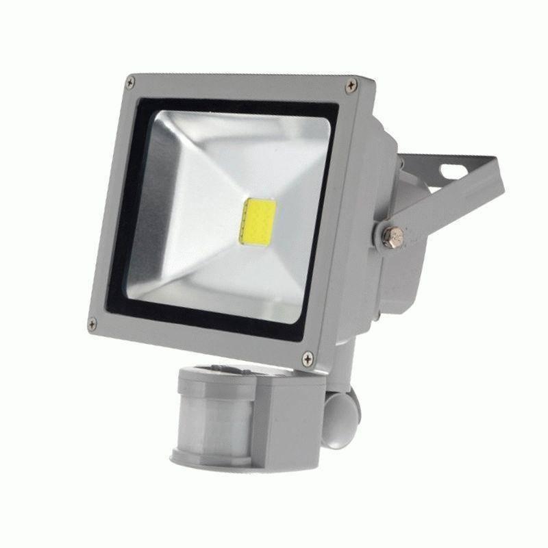 Как подключить датчик движения к светодиодному прожектору - возможные схемы коммутации для освещения