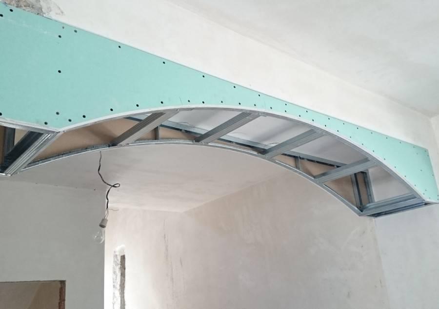 Как сделать арку из гипсокартона - 120 фото-идей и лучших проектов арок для украшения дверного проема