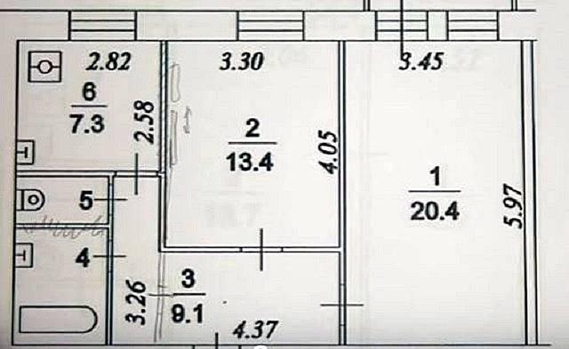 Перепланировка двухкомнатной квартиры (50 фото): переделка 2-комнатных «хрущевок» в кирпичном доме в трехкомнатные квартиры и другие варианты