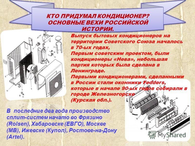 Что такое кондиционер: понятие, виды, принцип работы, устройство, назначение и применение