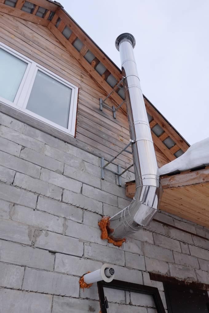 Вентиляция в частном доме из газобетона: варианты и способы сооружения