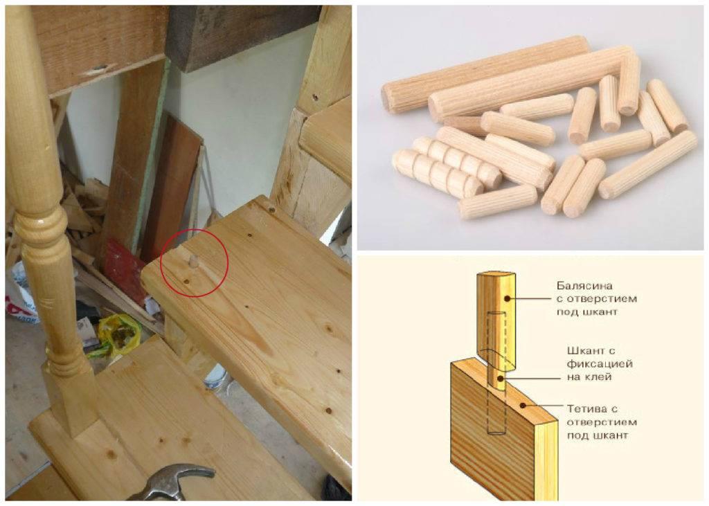 Как крепить балясины своими руками к полу, лестнице и перилам - способы и пошаговая инструкция