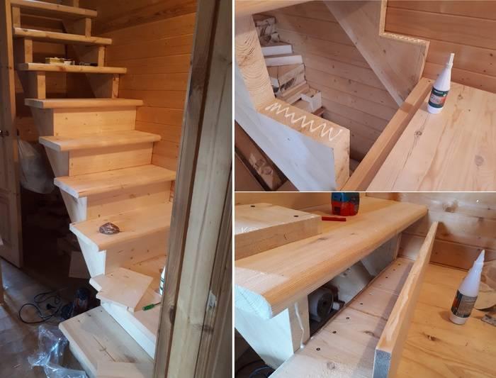 Лестница на второй этаж своими руками - строительство и ремонт