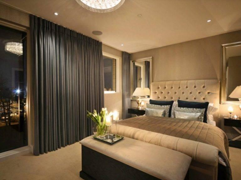 Дизайн интерьера спальной комнаты своими руками с фото