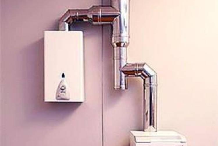 Вытяжная труба для газовой колонки - особенности выбора