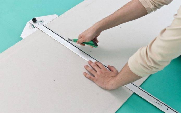 Чем резать гипсокартон в домашних условиях и как это делать правильно (видео)