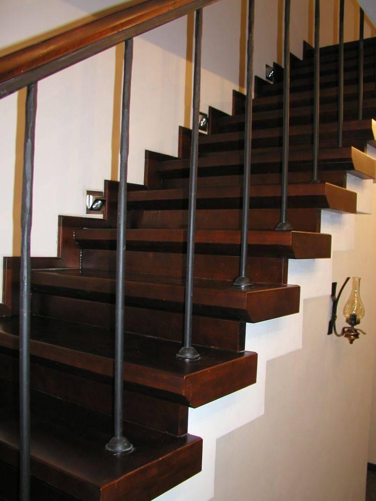 Отделка бетонных лестниц деревом своими руками: инструкция по шагам, фото, цены