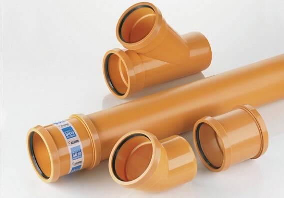 Диаметр канализационных труб пвх: таблица, выбор размеров - гидканал