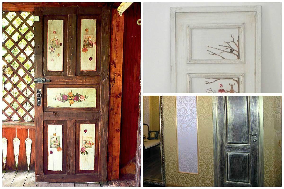 Реставрация старой межкомнатной двери собственноручно