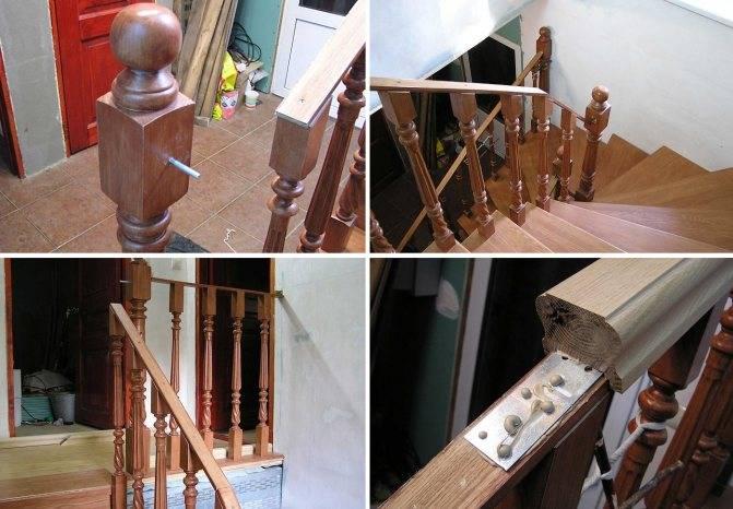 Балясины установка на бетонную лестницу своими руками   ogradim.su