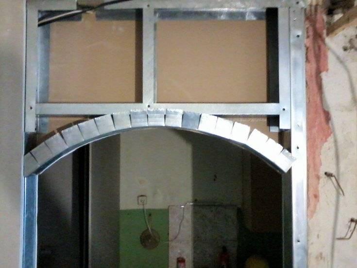 Делаем арку из гипсокартона своими руками