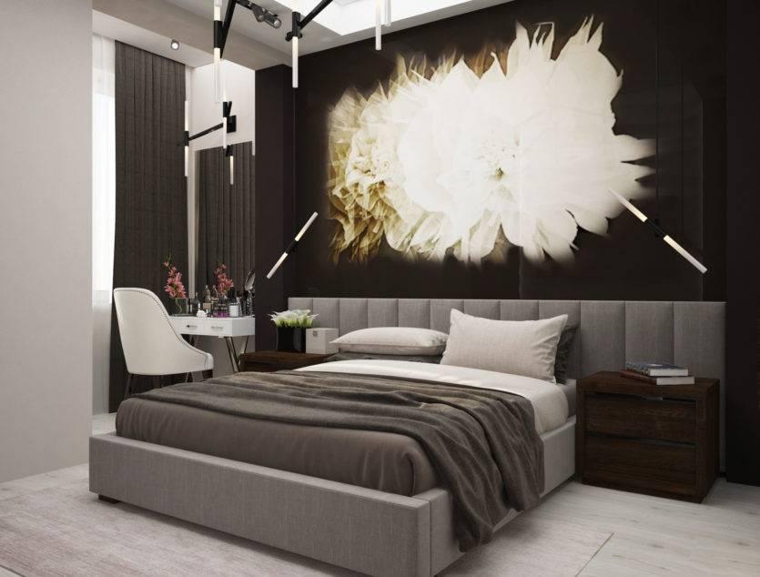 Стены в спальне - 120 фото лучших новинок дизайна. обзор вариантов отделки от профи!