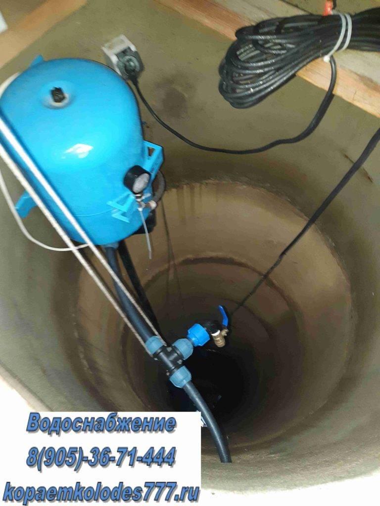 Водоснабжение частного дома из колодца своими руками: схемы подключения и монтаж