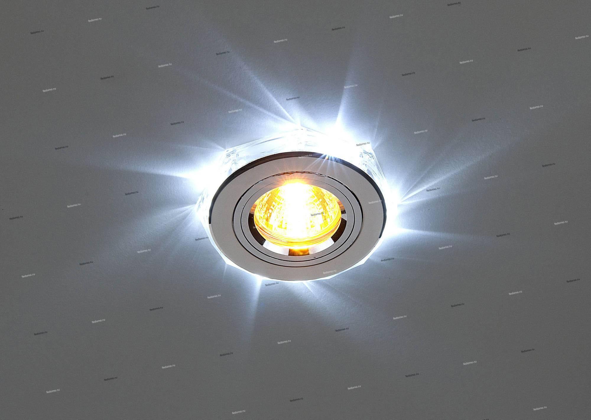 Какие светильники выбрать для установки в натяжной потолок?