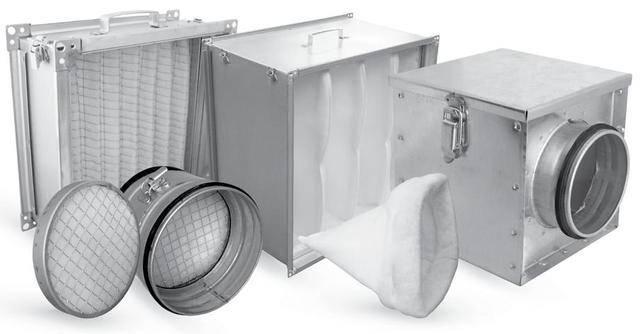 Фильтры для вентиляционной системы: материалы и классы очистки