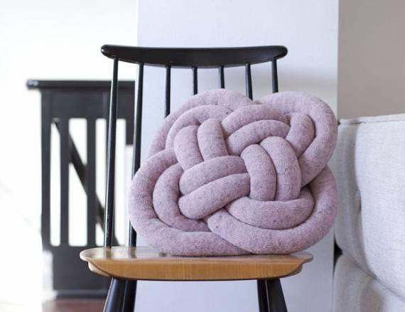 Декоративные подушки в интерьере. современное украшение дома