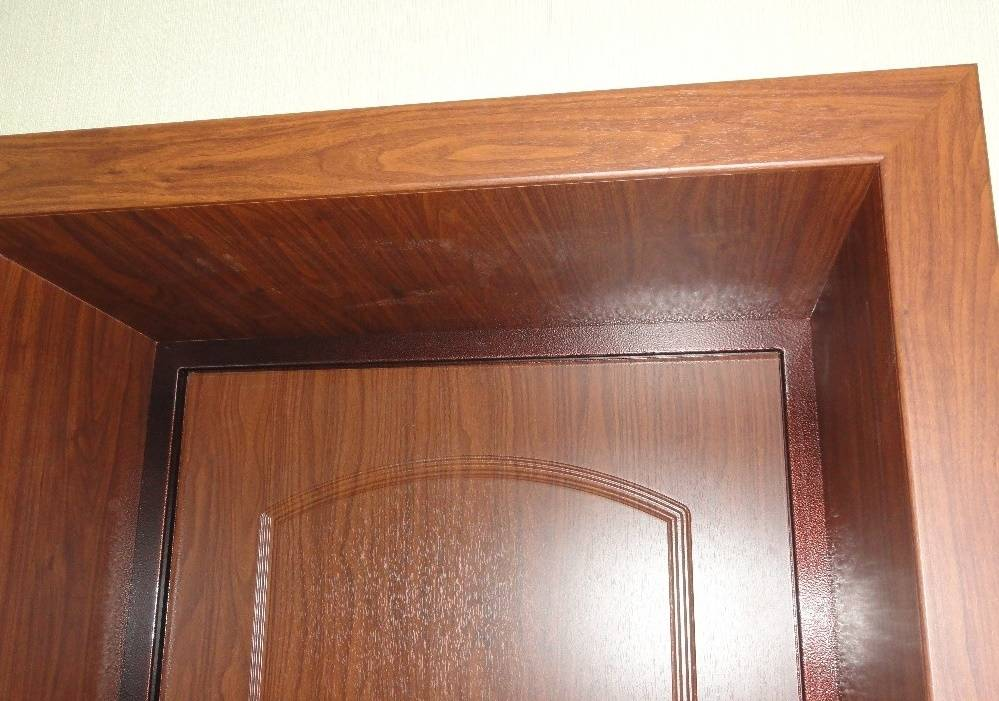 Отделка откосов входной двери своими руками - строительство и ремонт