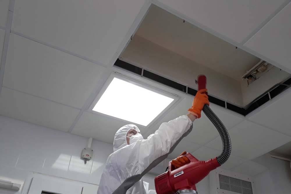 Очистка и дезинфекция систем вентиляции и кондиционирования | энергостар