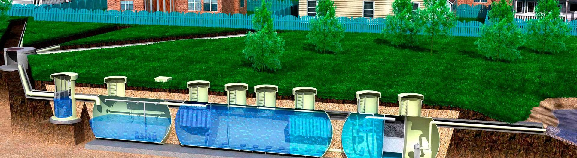 Локальные очистные сооружения ливневой канализации | все о септиках