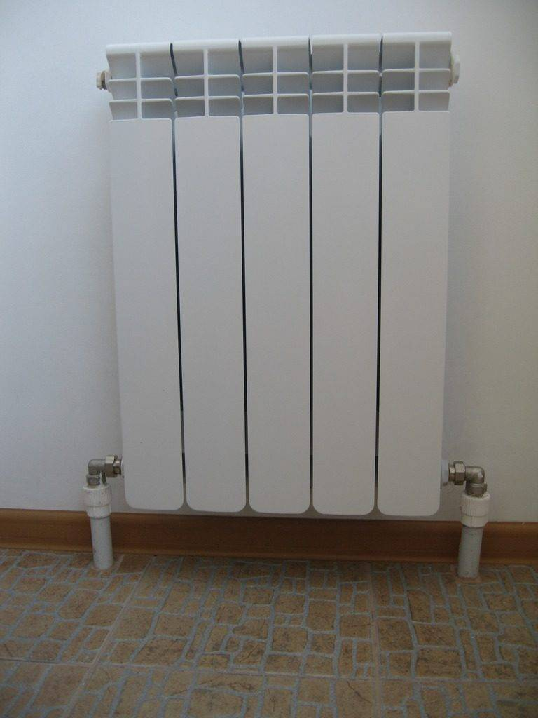 Разновидности и способы переноса батарей на лоджию и балкон