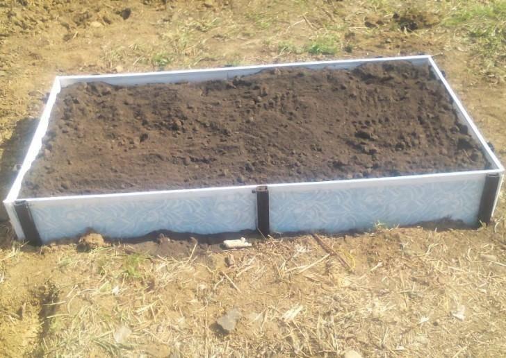 Как сделать высокие грядки — решение для любой почвы. фото — ботаничка.ru