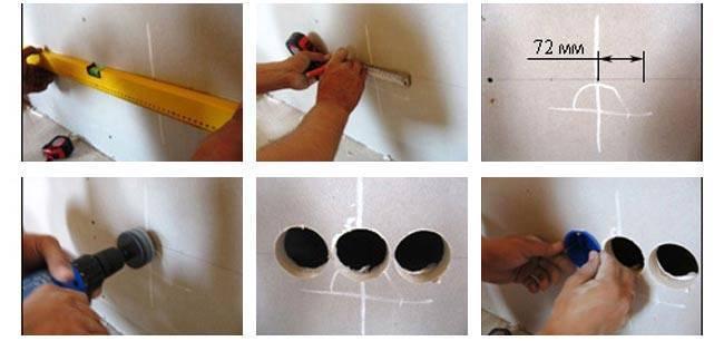 Проводка под гипсокартоном — как выполнить правильный монтаж