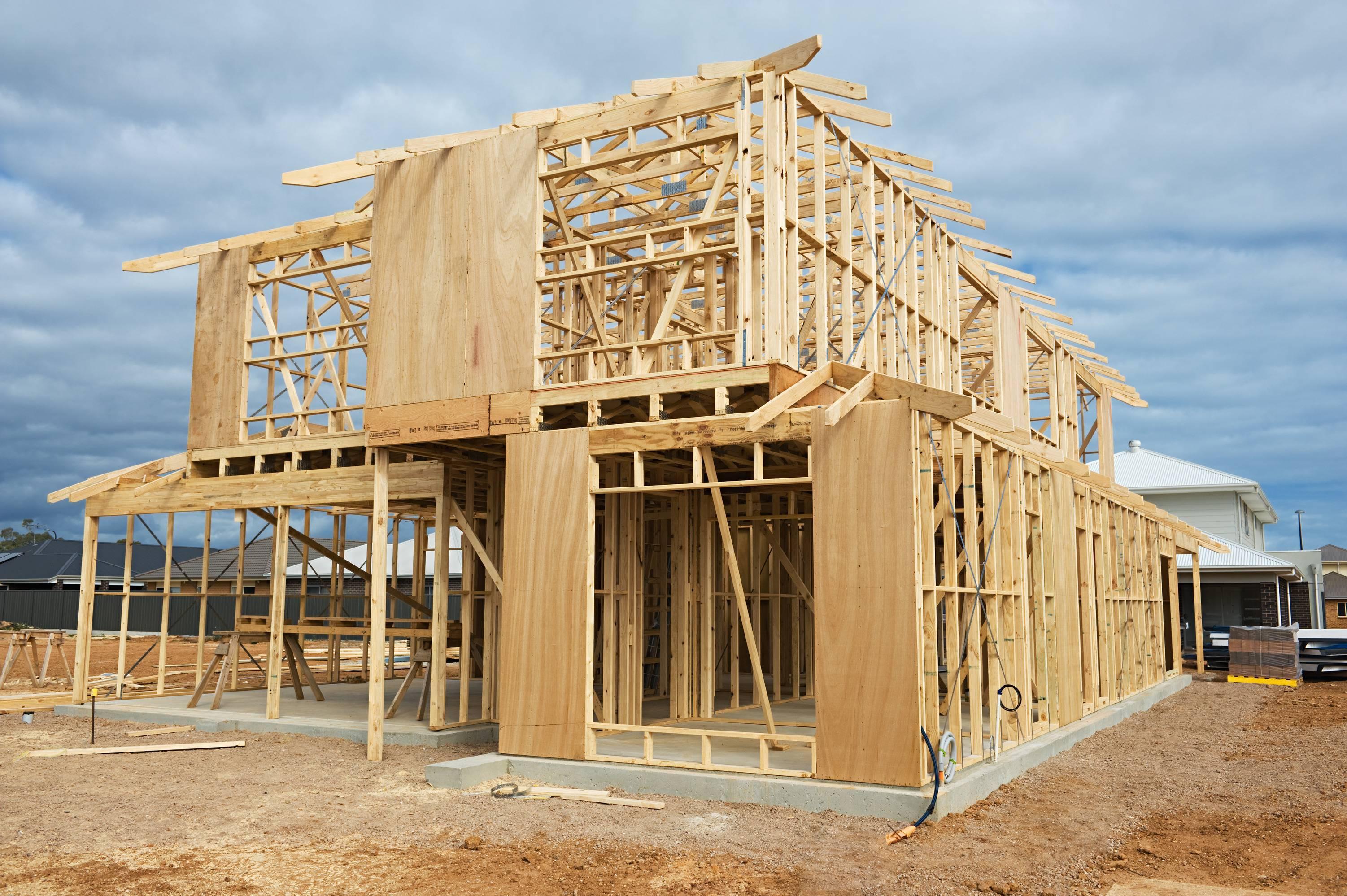 Как построить каркасный дом по канадской технологии