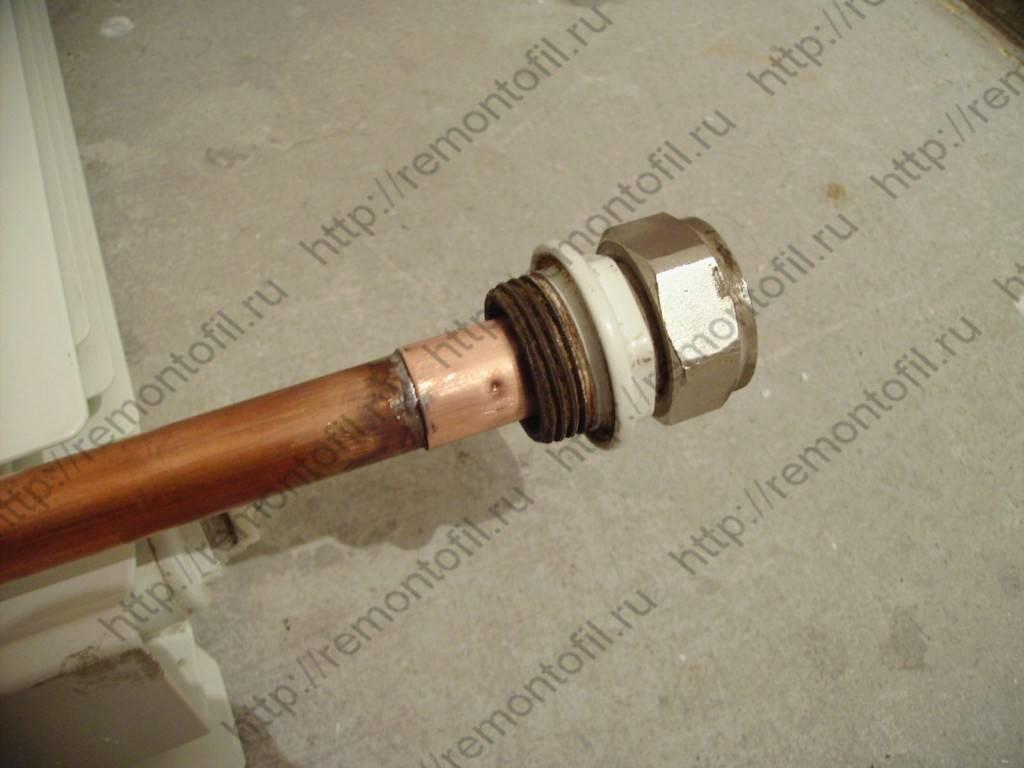 Удлинитель протока для радиатора: применение и независимое - учебник сантехника