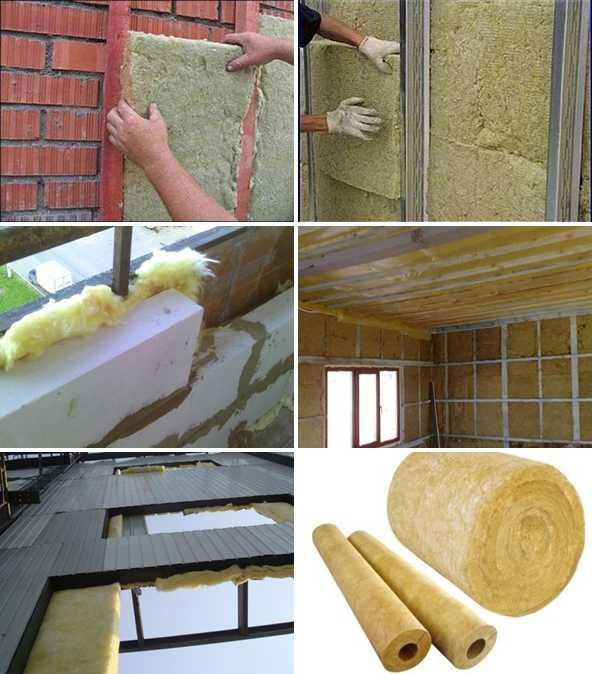Рулонные утеплители для стен изнутри