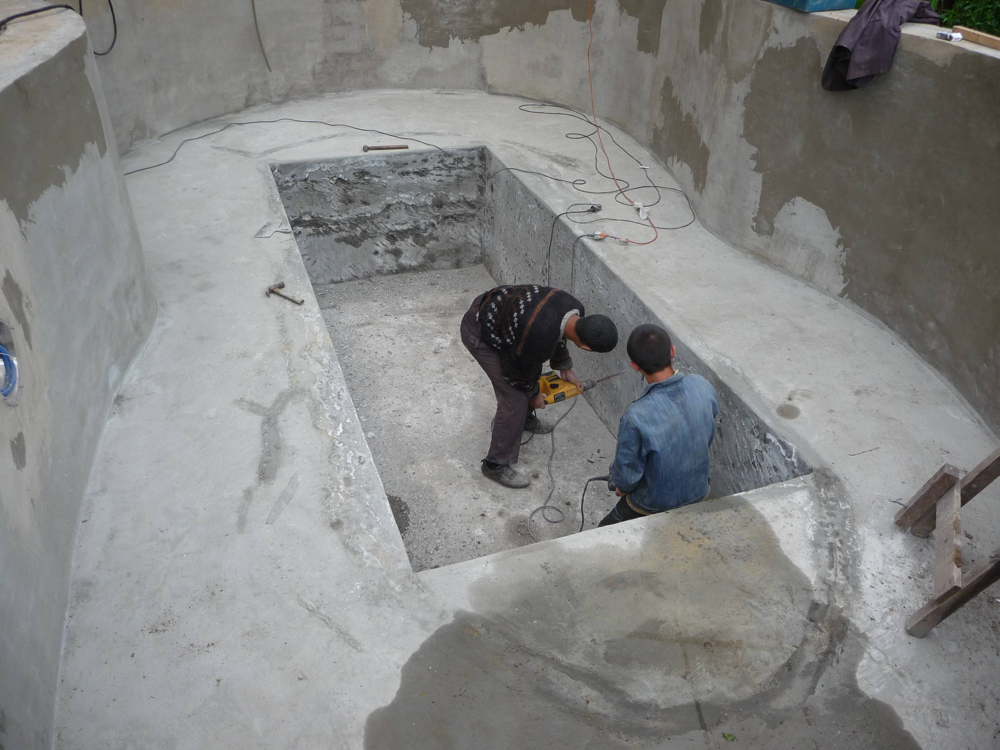 Бассейн в бане своими руками - строительство бассейна | стройсоветы
