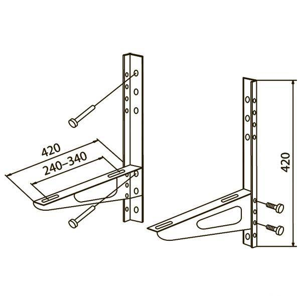 Установка сплит-системы (кондиционера) своими руками: пошаговая инструкция + (фото)