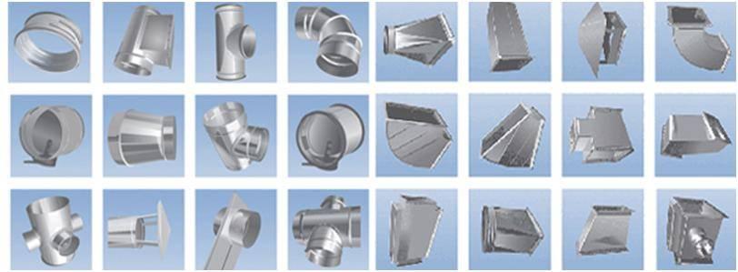 Трубы для вентиляции: размеры и параметры воздуховодов