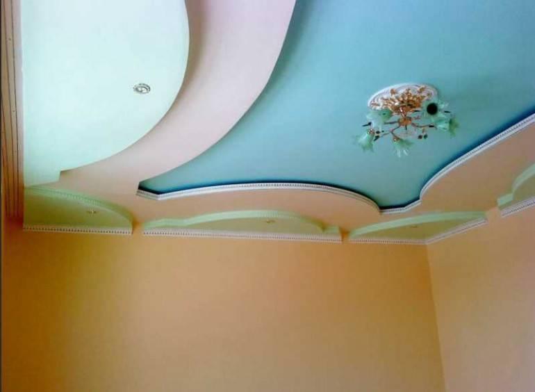 Чем красить потолок из гипсокартона - рекомендации