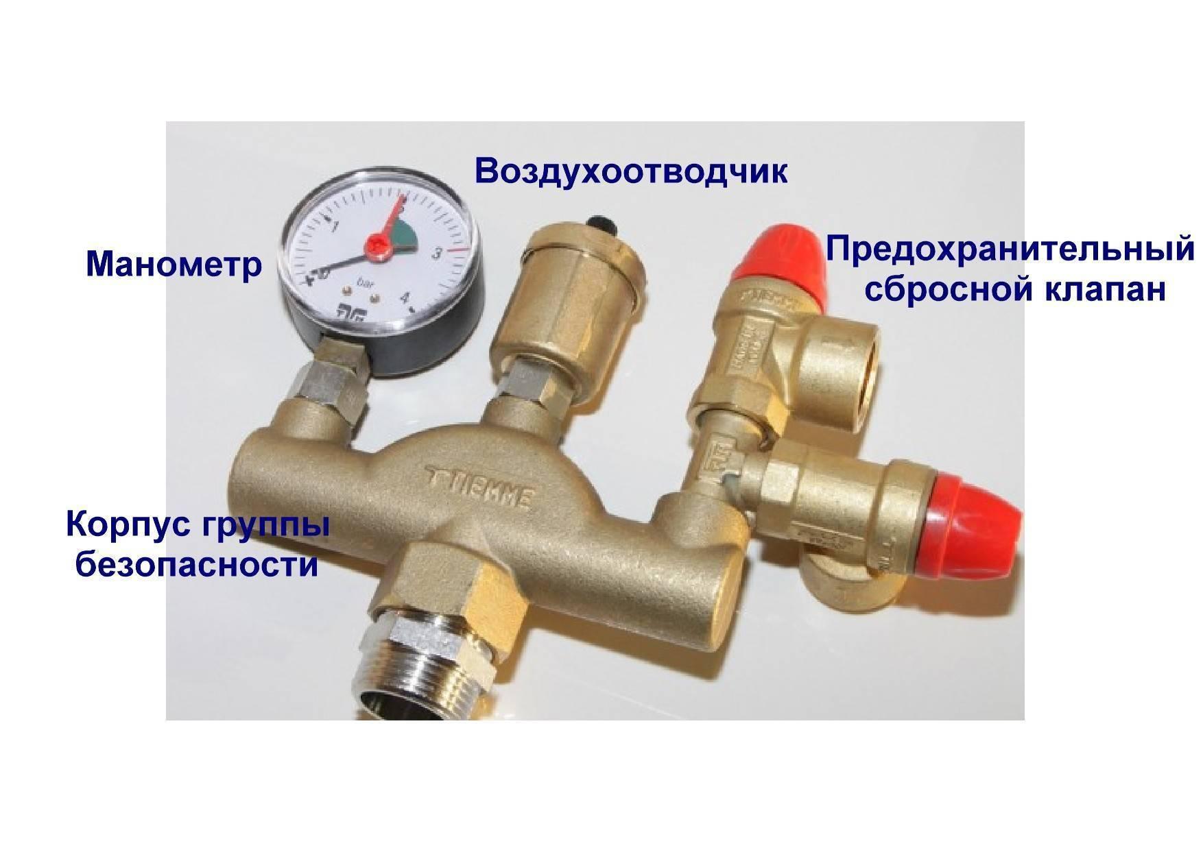 Предохранительный клапан для котла: как выбрать, виды механизмов сброса давления и лучшие модели, инструкция по установке в систему отоплния, настройке и регулированию работы, актуальные цены