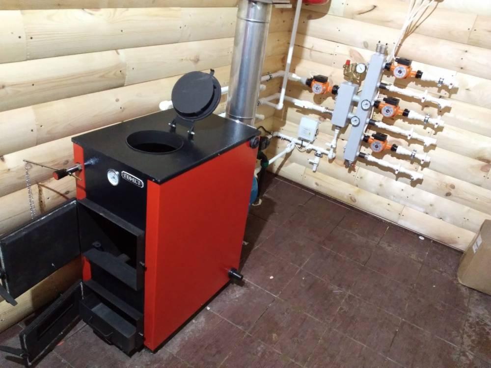 Печь для водяного отопления дома на дровах   всё об отоплении