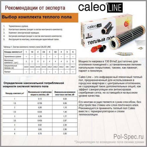 Сколько потребляет электрический теплый пол - считаем на удобных онлайн-калькуляторах