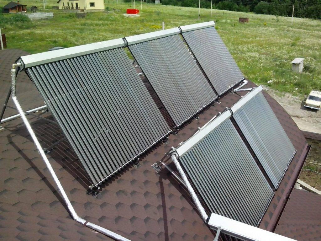 Как сделать солнечные коллекторы для отопления дома своими руками — устройство и схема