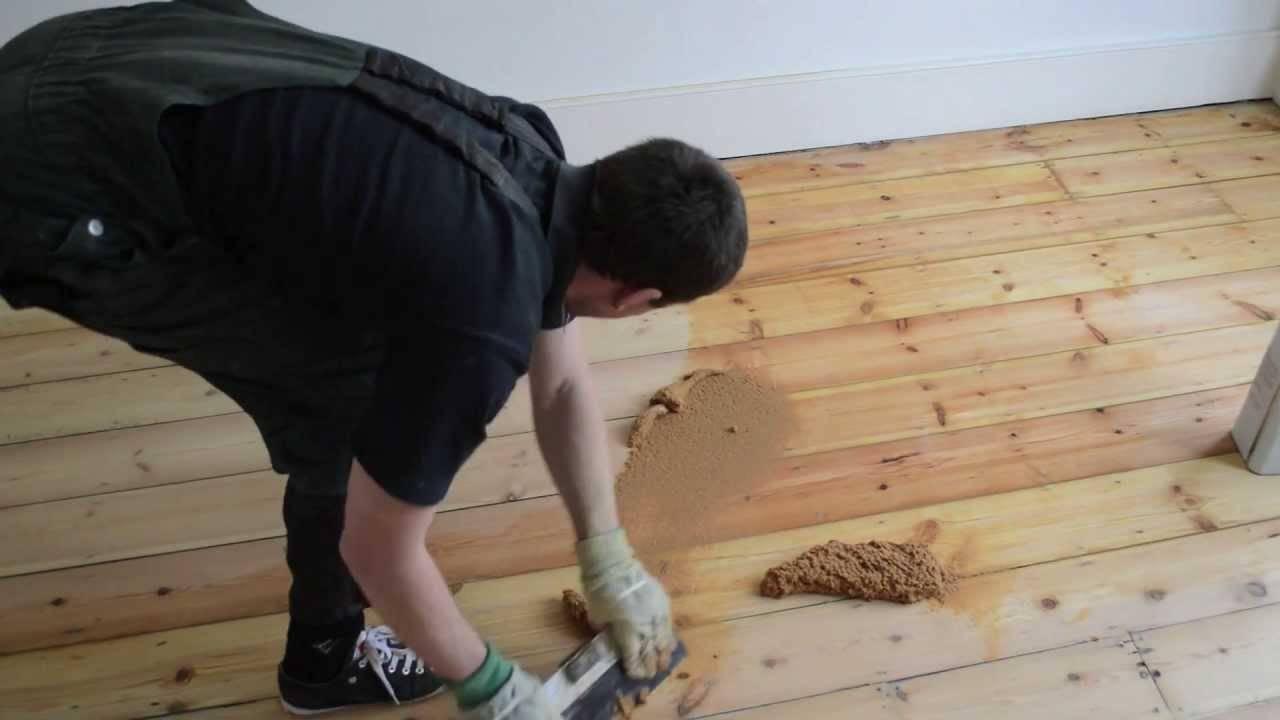 Обзор шпаклевки для деревянного пола