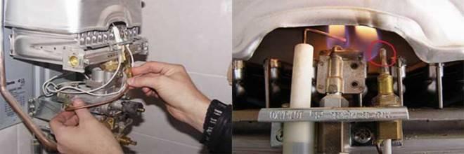 Почему не нагревается вода в бойлере