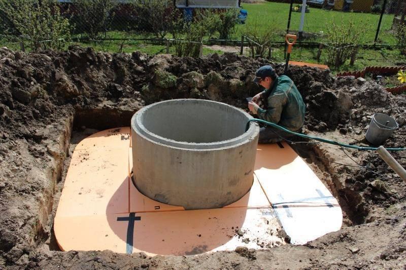 Способы утепления колодца из бетонных колец