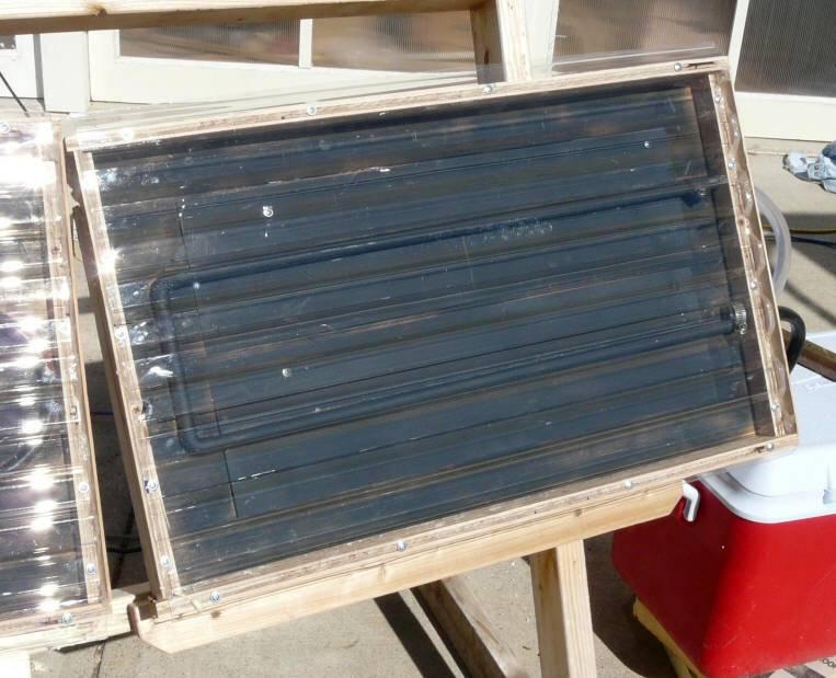 Солнечный коллектор для отопления, собранный своими руками: самодельный воздушный агрегат для дома