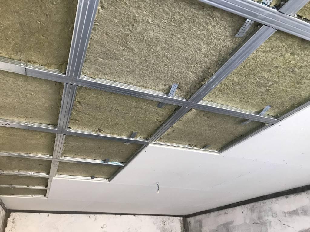 Топ вариантов шумоизоляции потолка в квартире под натяжной потолок
