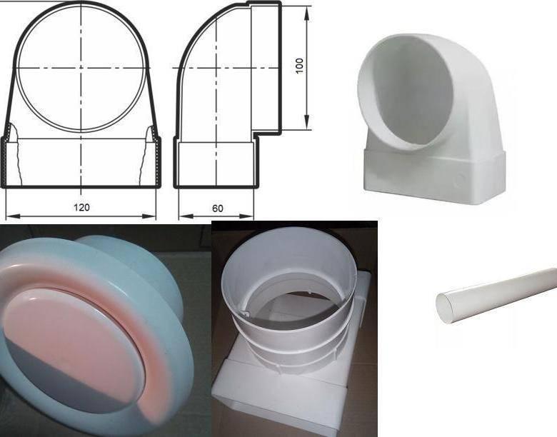 Воздуховоды для вентиляции из пластика: экономичность и удобство