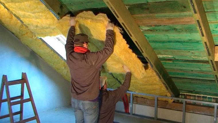 Утепление мансардной крыши: используемый материал и особенности его монтажа