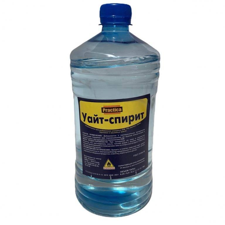 Уайт-спирит – технические характеристики растворителя и область его применения