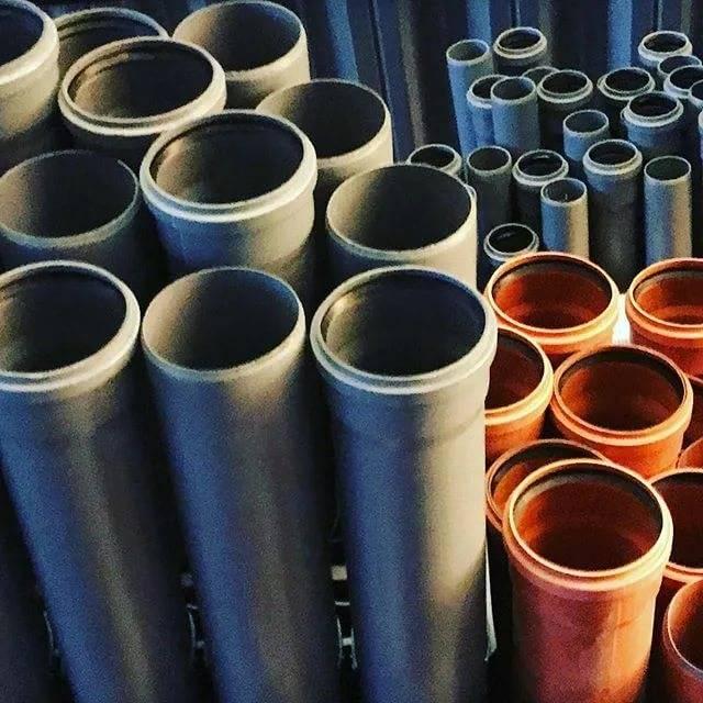 Оранжевые и серые канализационные трубы - что выбрать?